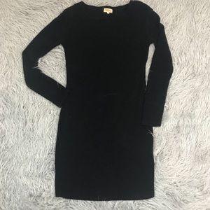 PIKO 1988 Black Long Sleeve Bodycon Dress